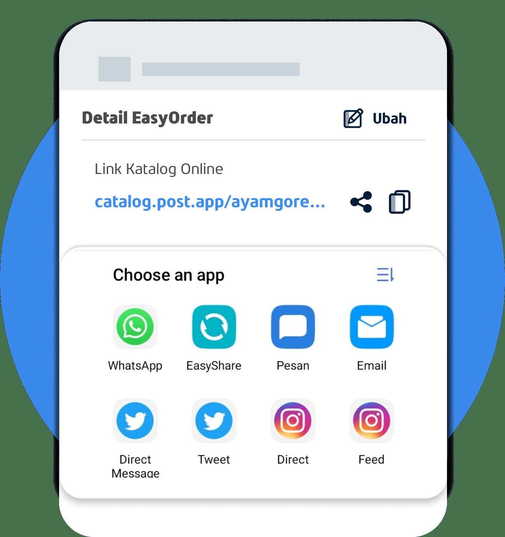 App Penjualan multichannel & pesanan online