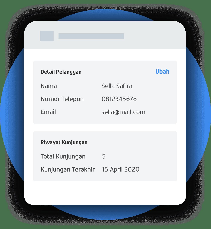 App Profile Pembelian dan Kunjungan