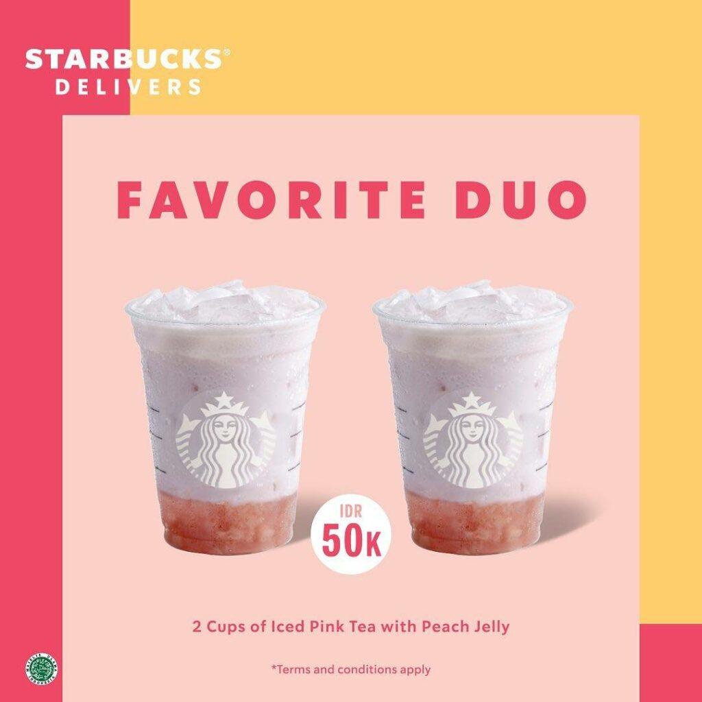 starbucks favorite duo, same product bundling